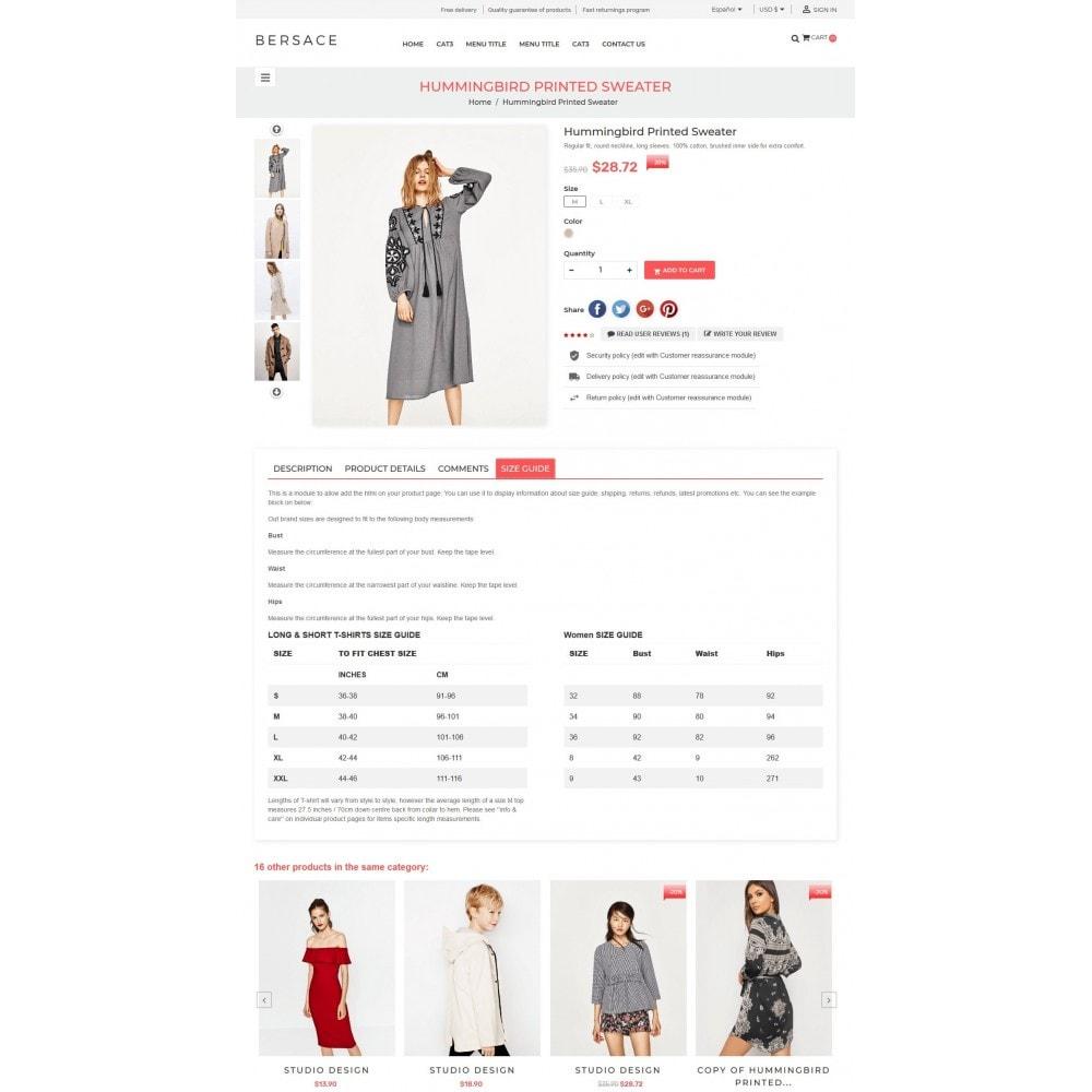 theme - Moda & Calçados - Bersace Fashion Theme - 6