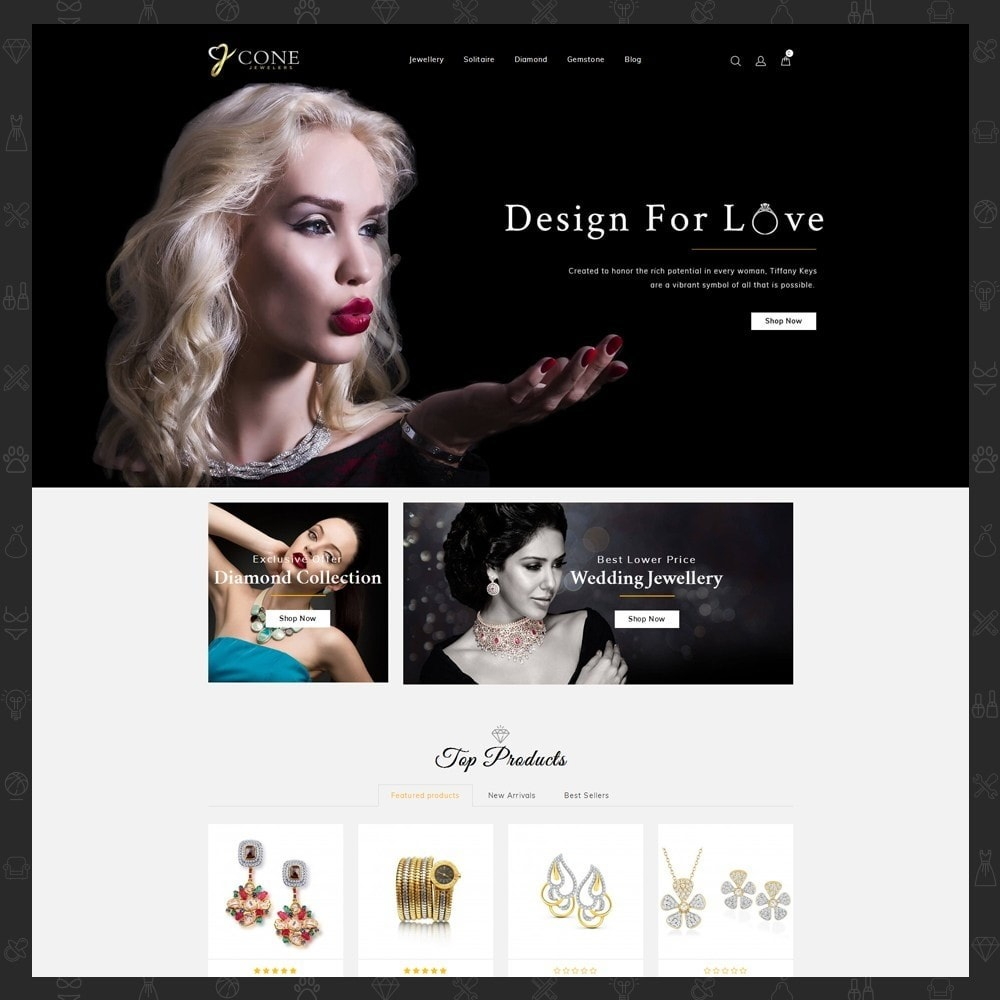 theme - Bijoux & Accessoires - Cone Jewelers Store - 2