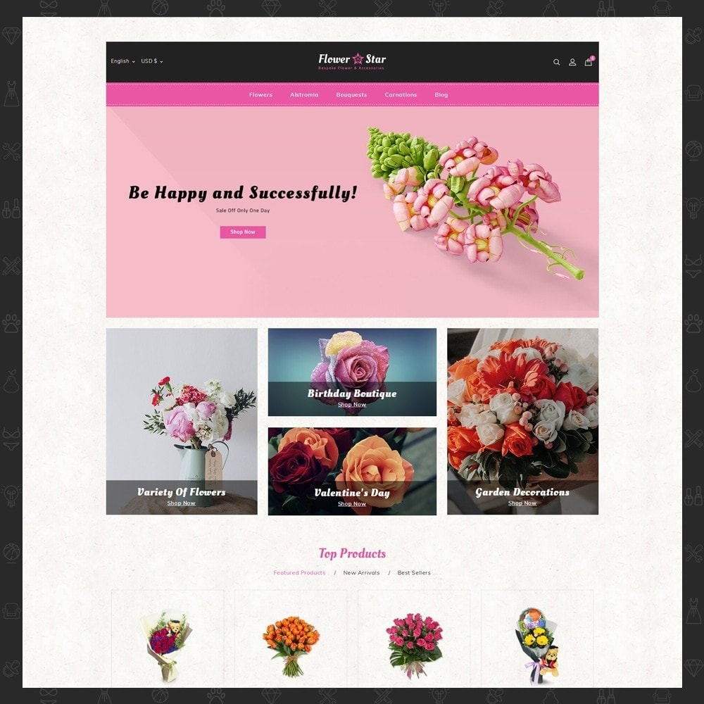 theme - Gifts, Flowers & Celebrations - Flowerstar Store - 2