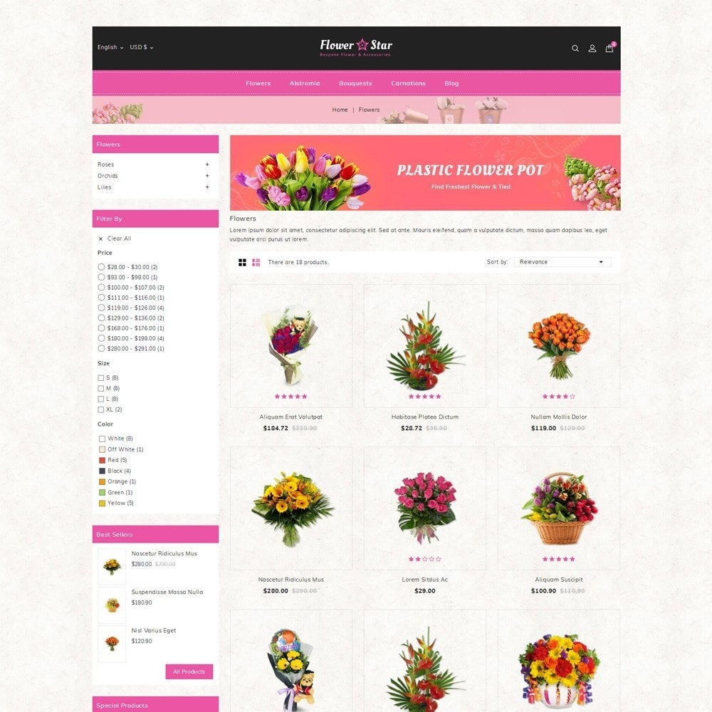 theme - Gifts, Flowers & Celebrations - Flowerstar Store - 3