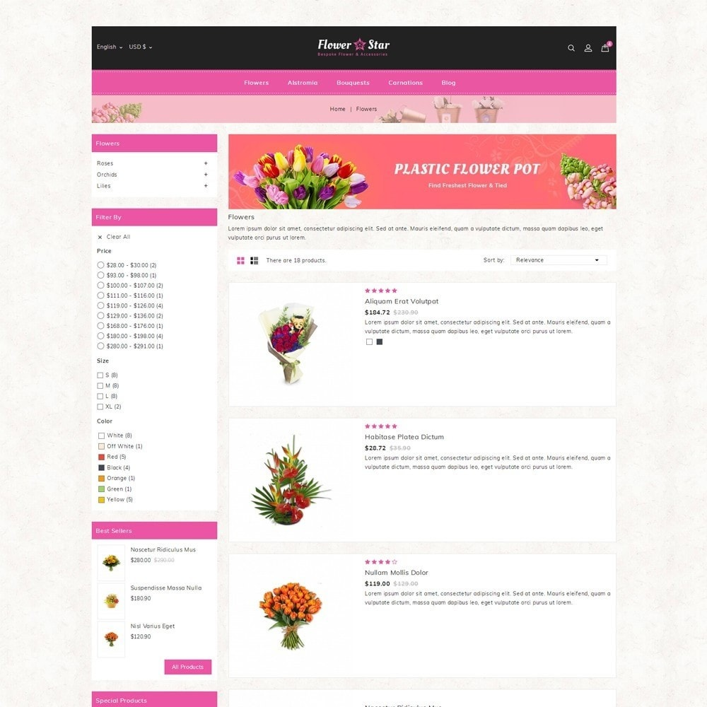 theme - Gifts, Flowers & Celebrations - Flowerstar Store - 4