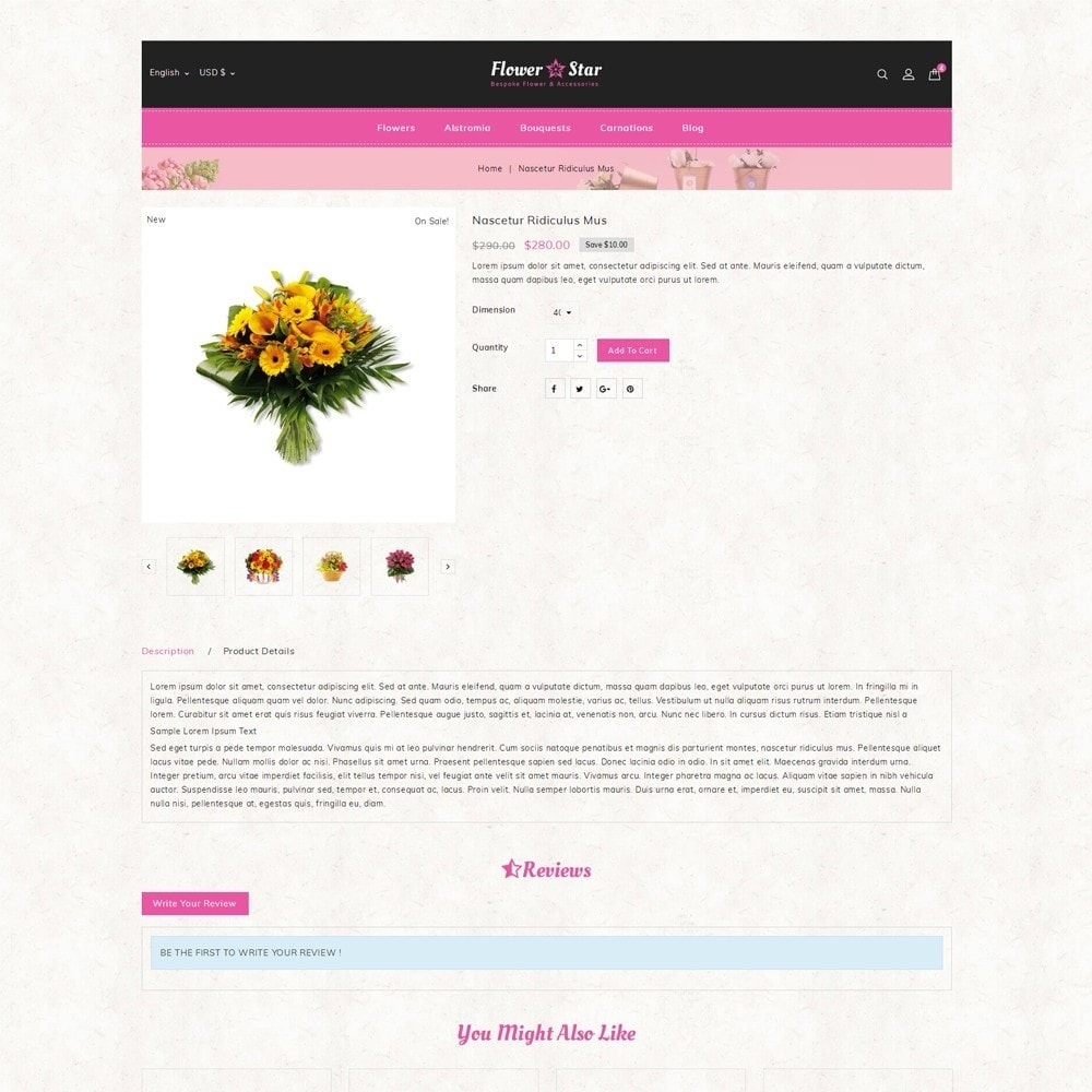 theme - Gifts, Flowers & Celebrations - Flowerstar Store - 5