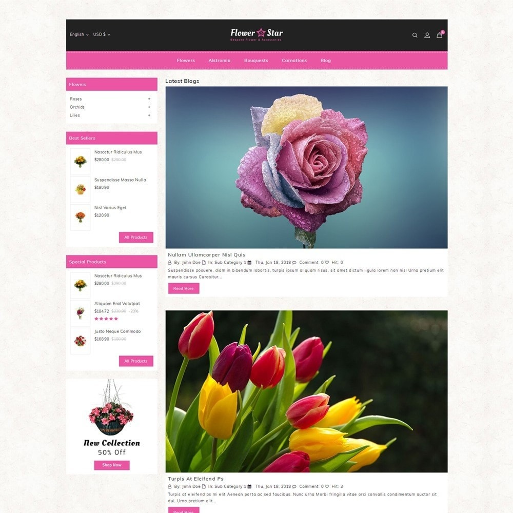 theme - Gifts, Flowers & Celebrations - Flowerstar Store - 6