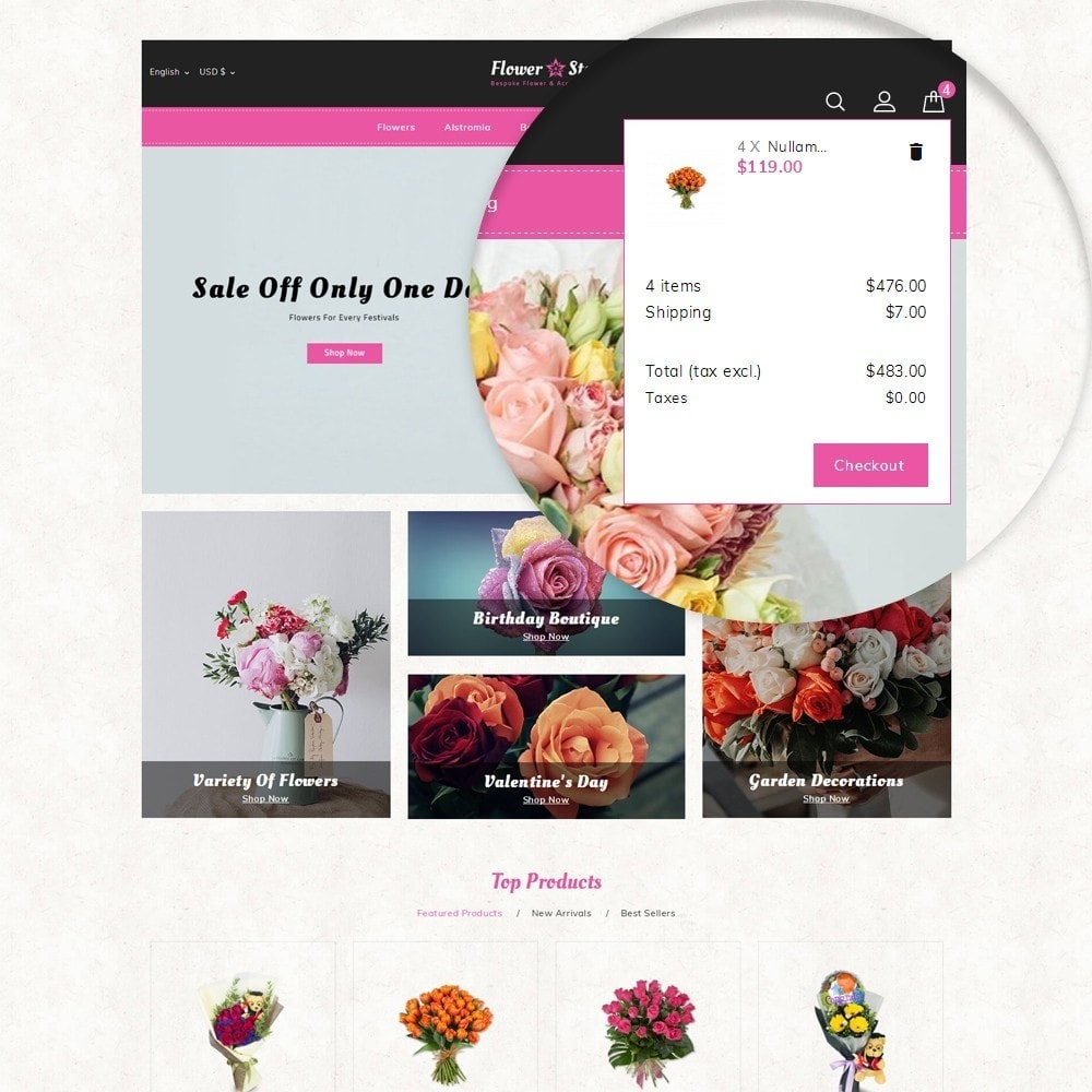 theme - Gifts, Flowers & Celebrations - Flowerstar Store - 7