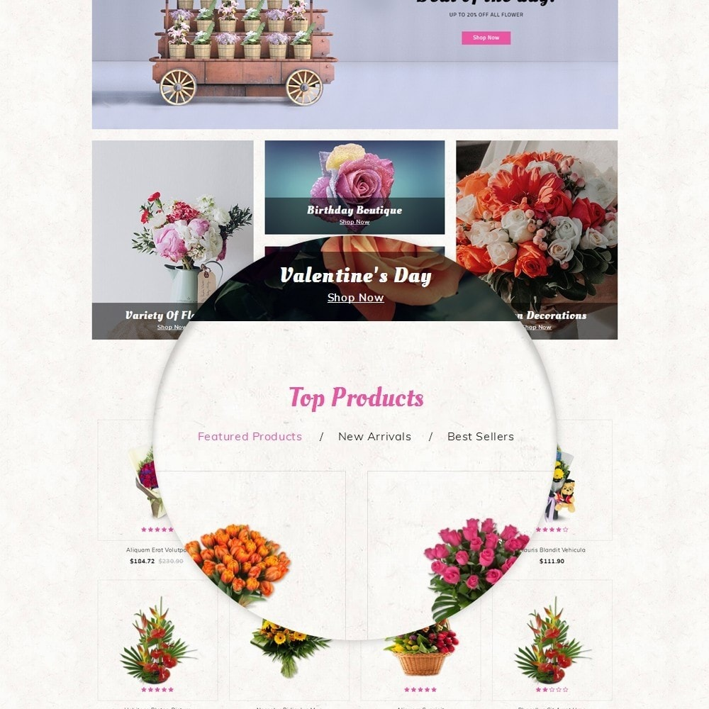theme - Gifts, Flowers & Celebrations - Flowerstar Store - 8