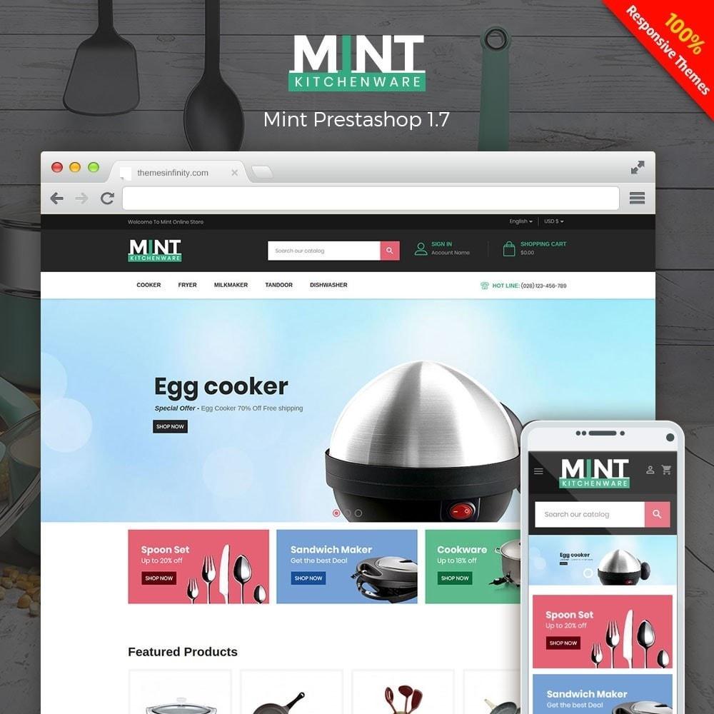 theme - Alimentation & Restauration - Mint - Kitchen Online Store - 1