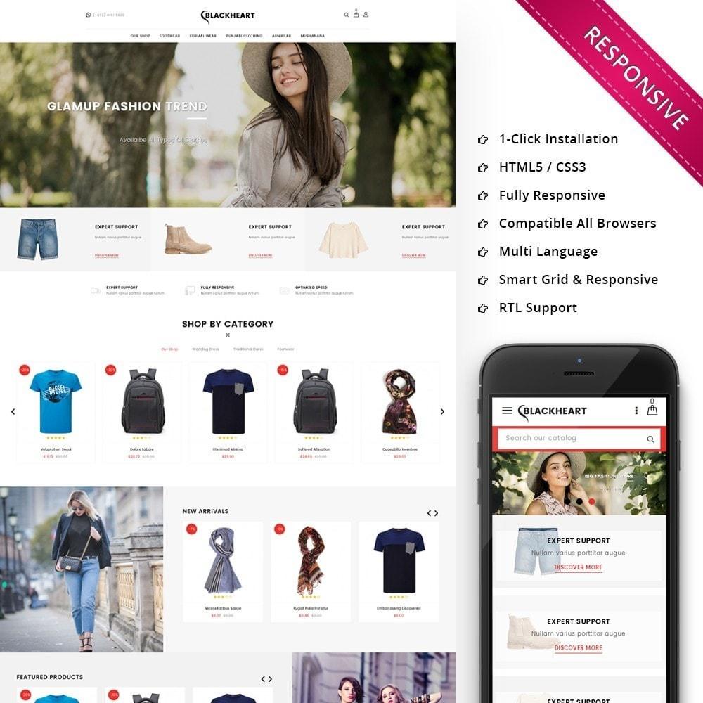 theme - Mode & Chaussures - Blackheart - The Fashion Shop - 1