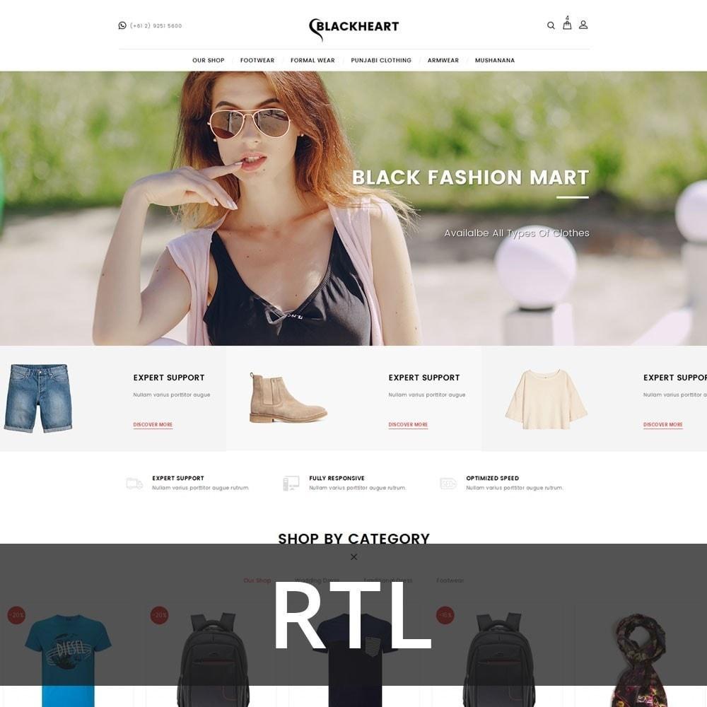theme - Mode & Chaussures - Blackheart - The Fashion Shop - 3