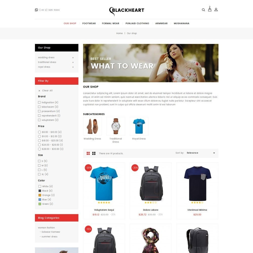 theme - Mode & Chaussures - Blackheart - The Fashion Shop - 4
