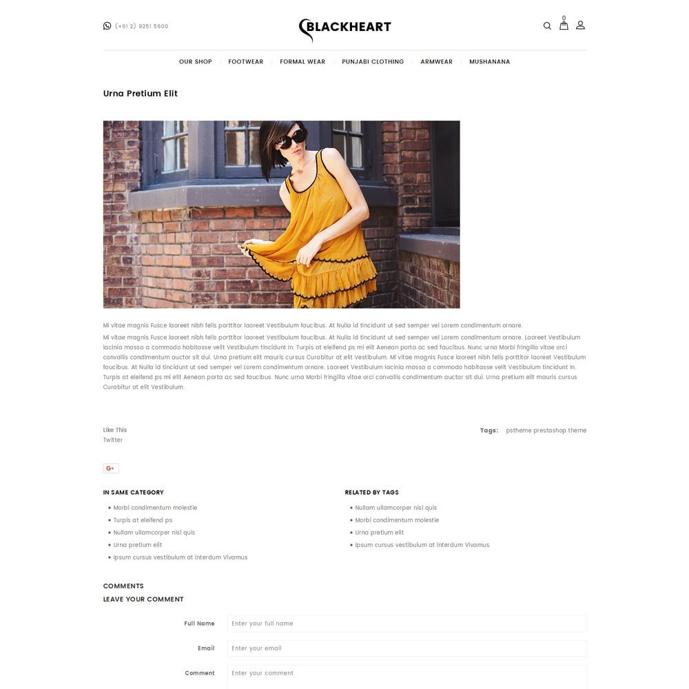 theme - Mode & Chaussures - Blackheart - The Fashion Shop - 7