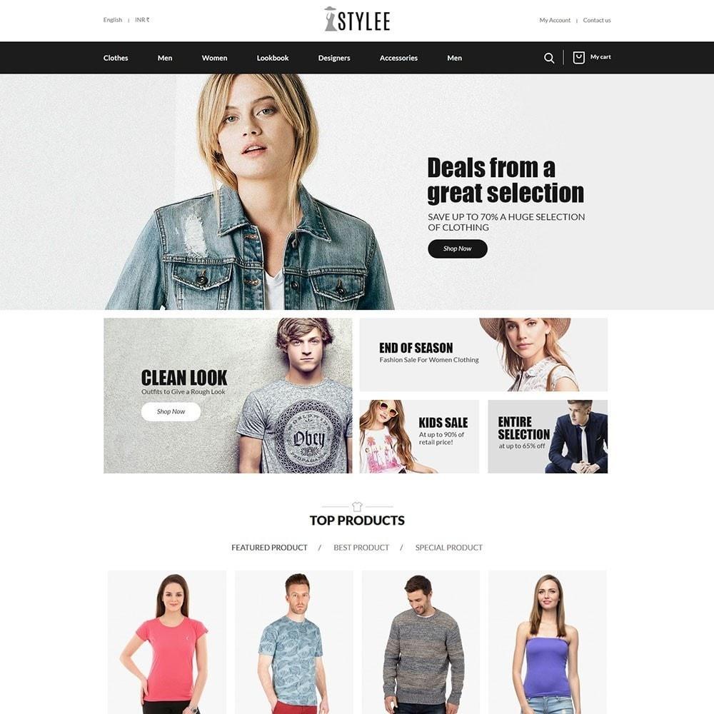 theme - Fashion & Shoes - The Stylee - Fashion Store - 2