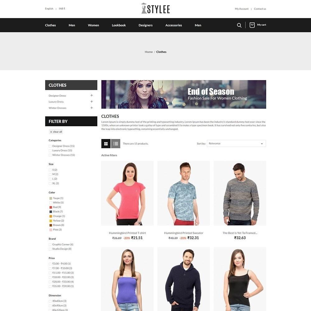 theme - Fashion & Shoes - The Stylee - Fashion Store - 3