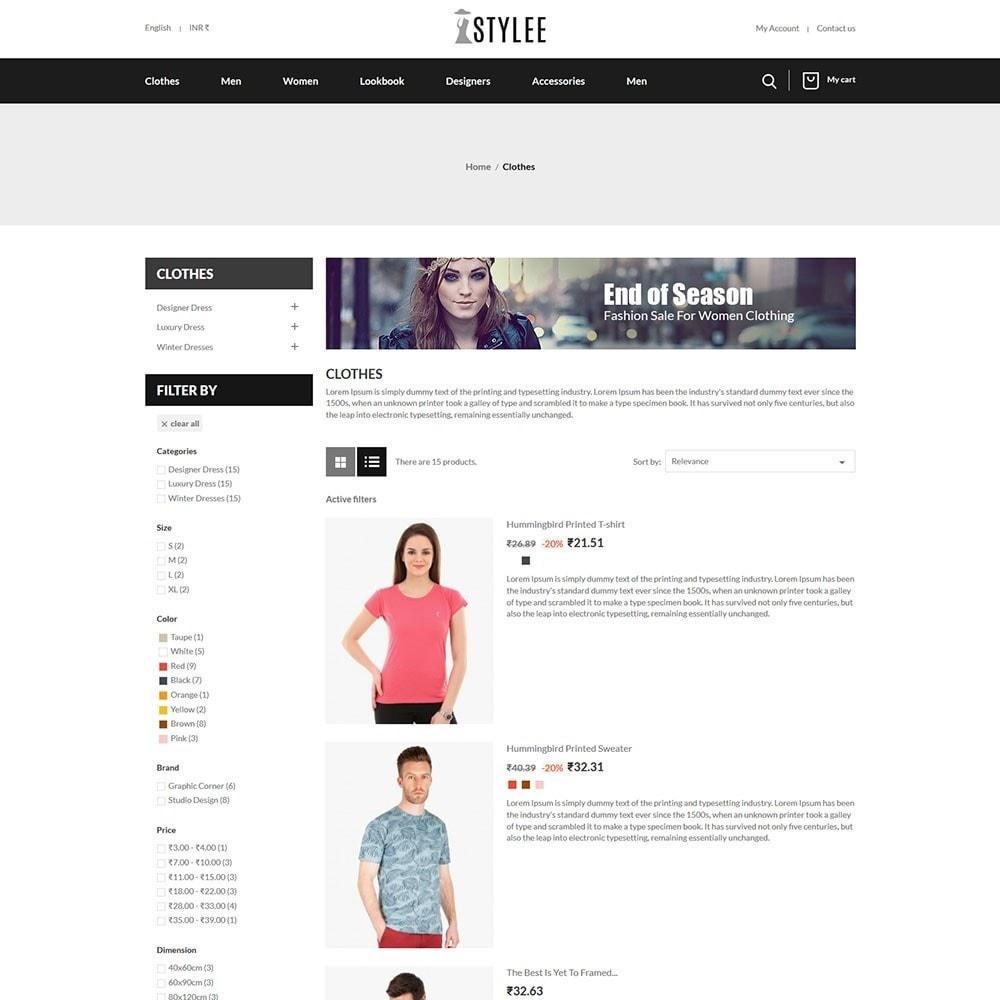 theme - Fashion & Shoes - The Stylee - Fashion Store - 4