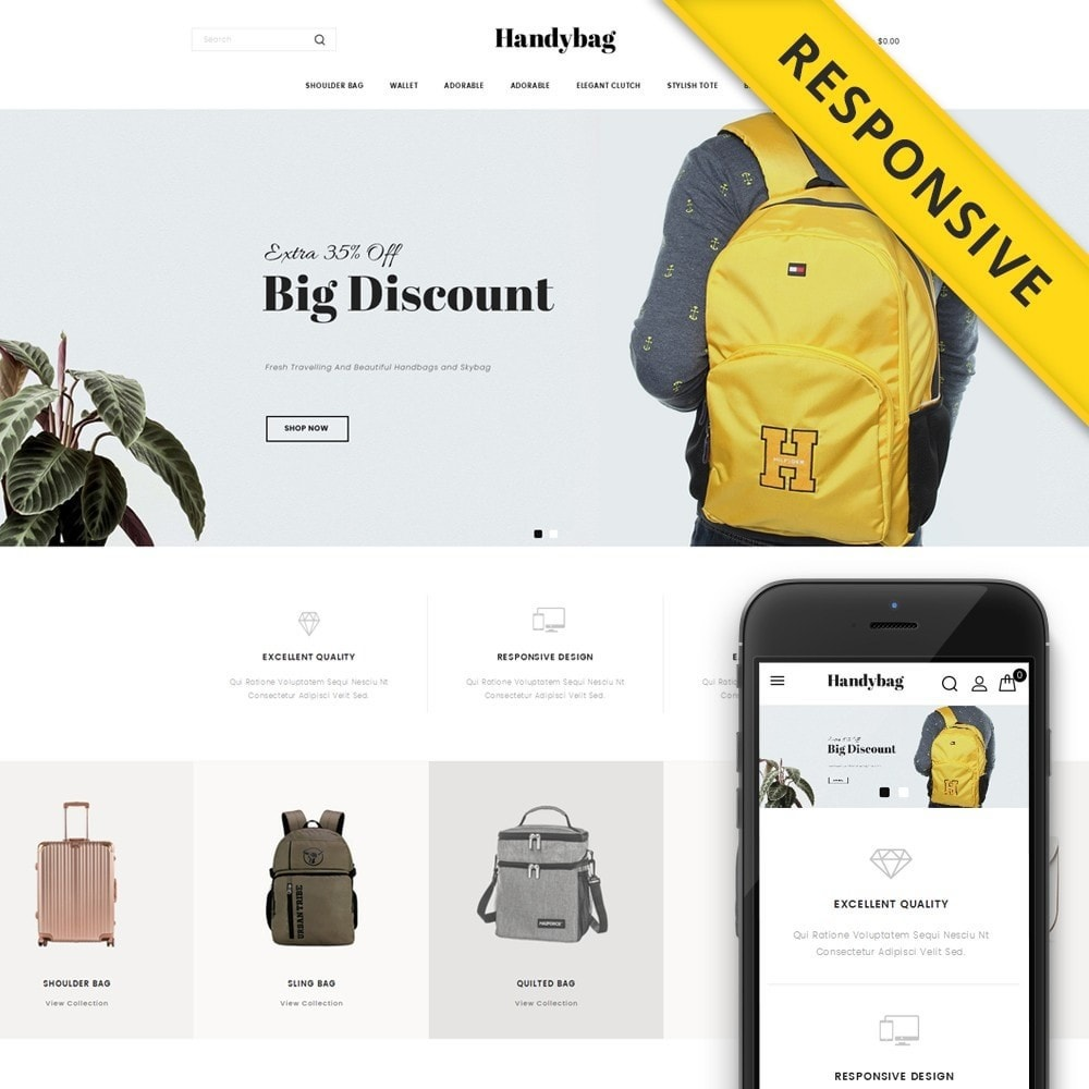 theme - Moda & Calçados - Handybag store - 1