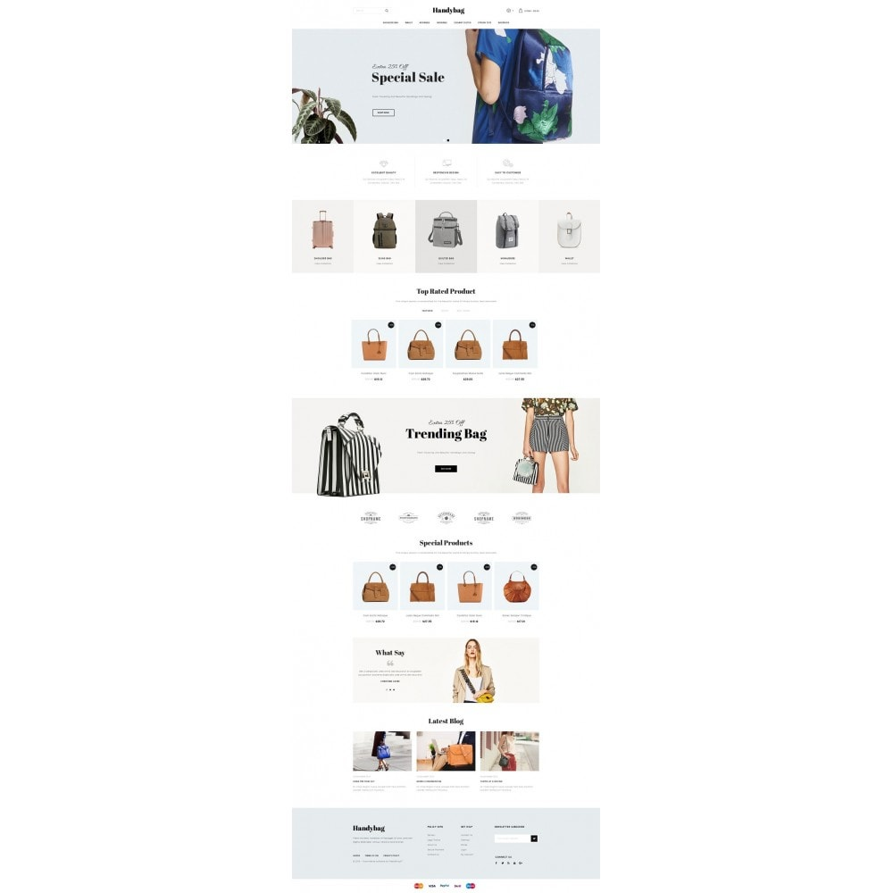 theme - Moda & Calçados - Handybag store - 2