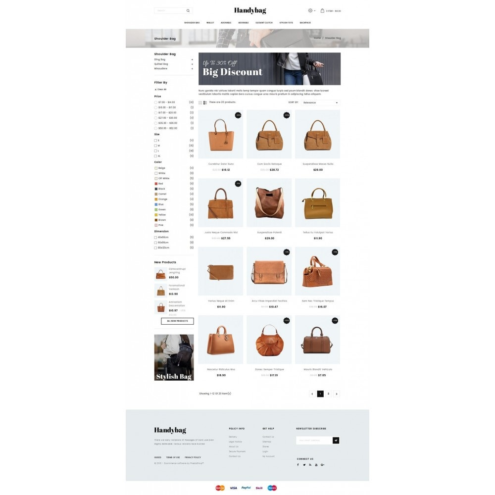 theme - Mode & Chaussures - Handybag store - 3