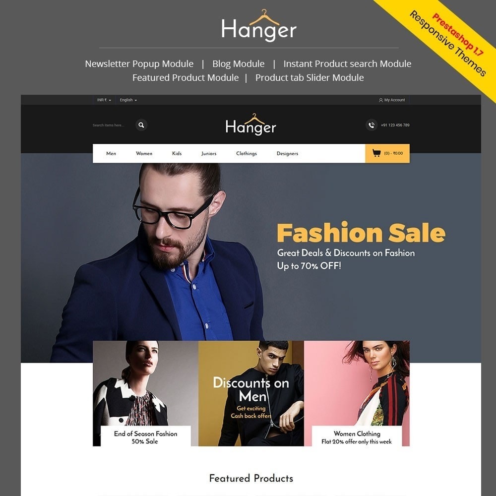 theme - Mode & Chaussures - Hanger Fashion Store - 1
