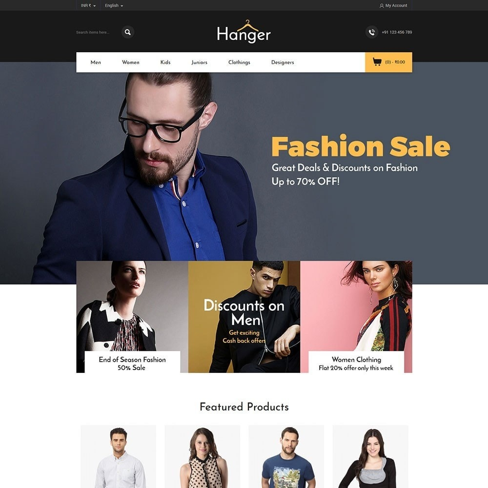 theme - Mode & Chaussures - Hanger Fashion Store - 2
