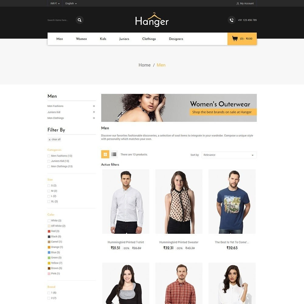 theme - Mode & Chaussures - Hanger Fashion Store - 3