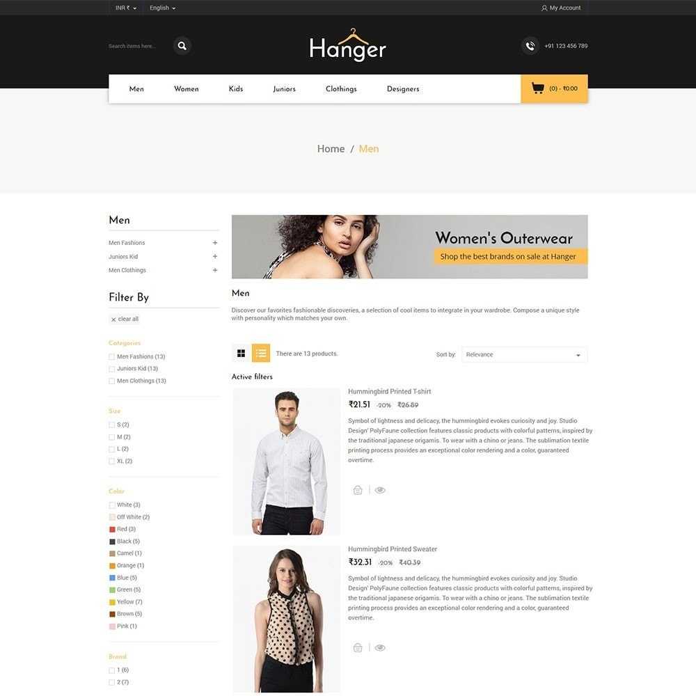 theme - Mode & Chaussures - Hanger Fashion Store - 4