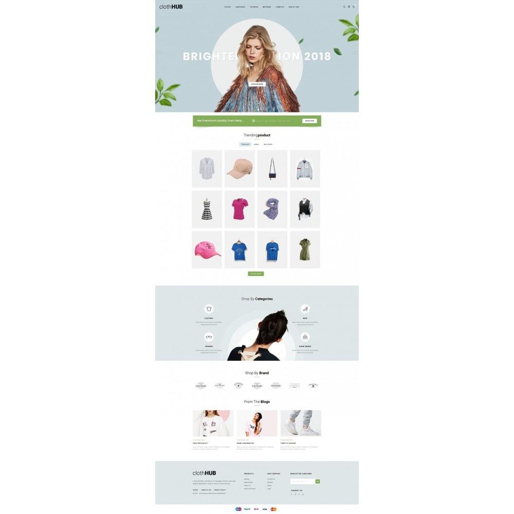 theme - Fashion & Shoes - Cloth HUB - 2