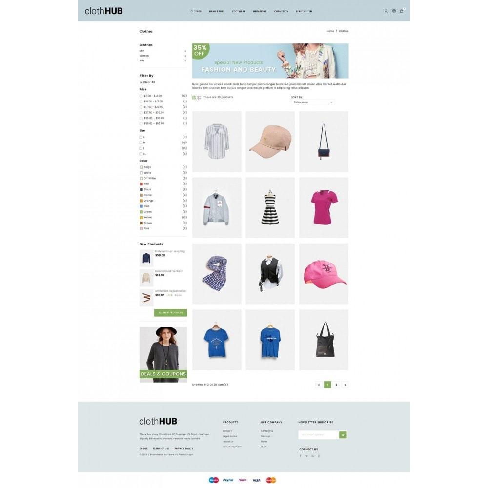theme - Fashion & Shoes - Cloth HUB - 3