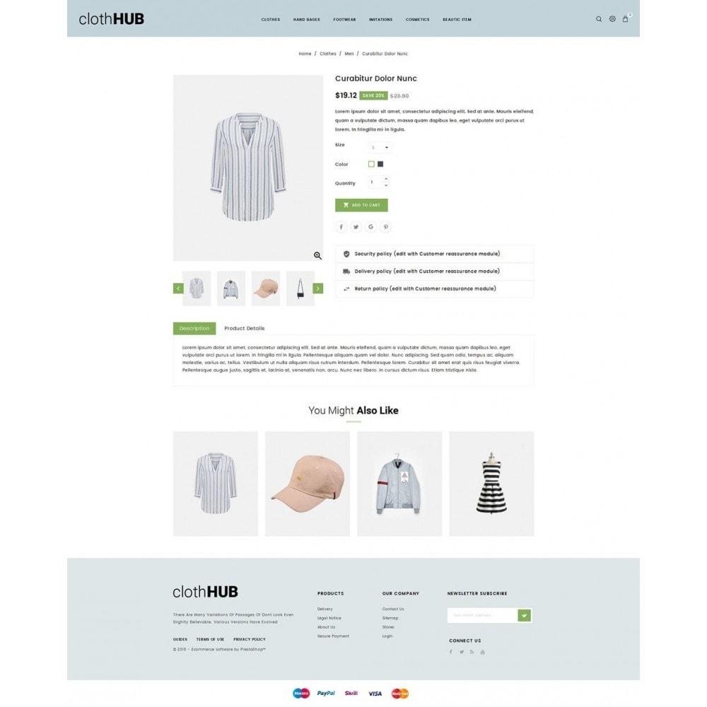 theme - Fashion & Shoes - Cloth HUB - 4