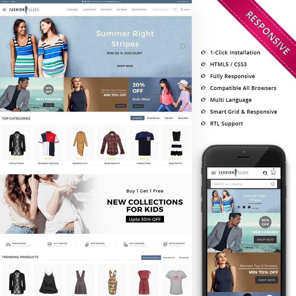 theme - Moda & Calçados - Fashionclass - The Fashion Store - 1