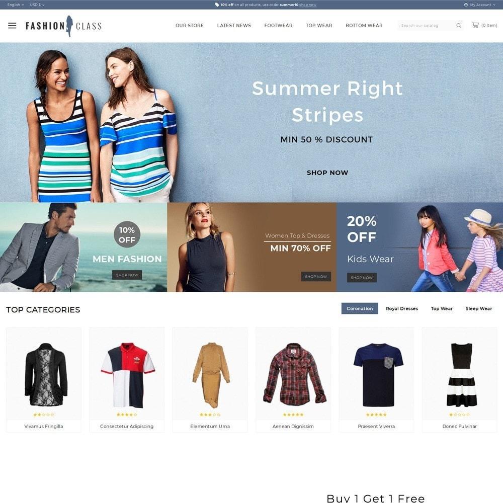 theme - Fashion & Shoes - Fashionclass - The Fashion Store - 2