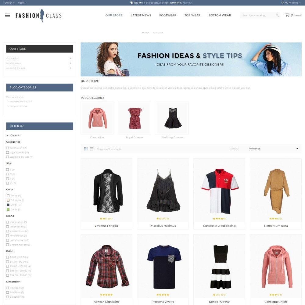 theme - Moda & Calçados - Fashionclass - The Fashion Store - 4