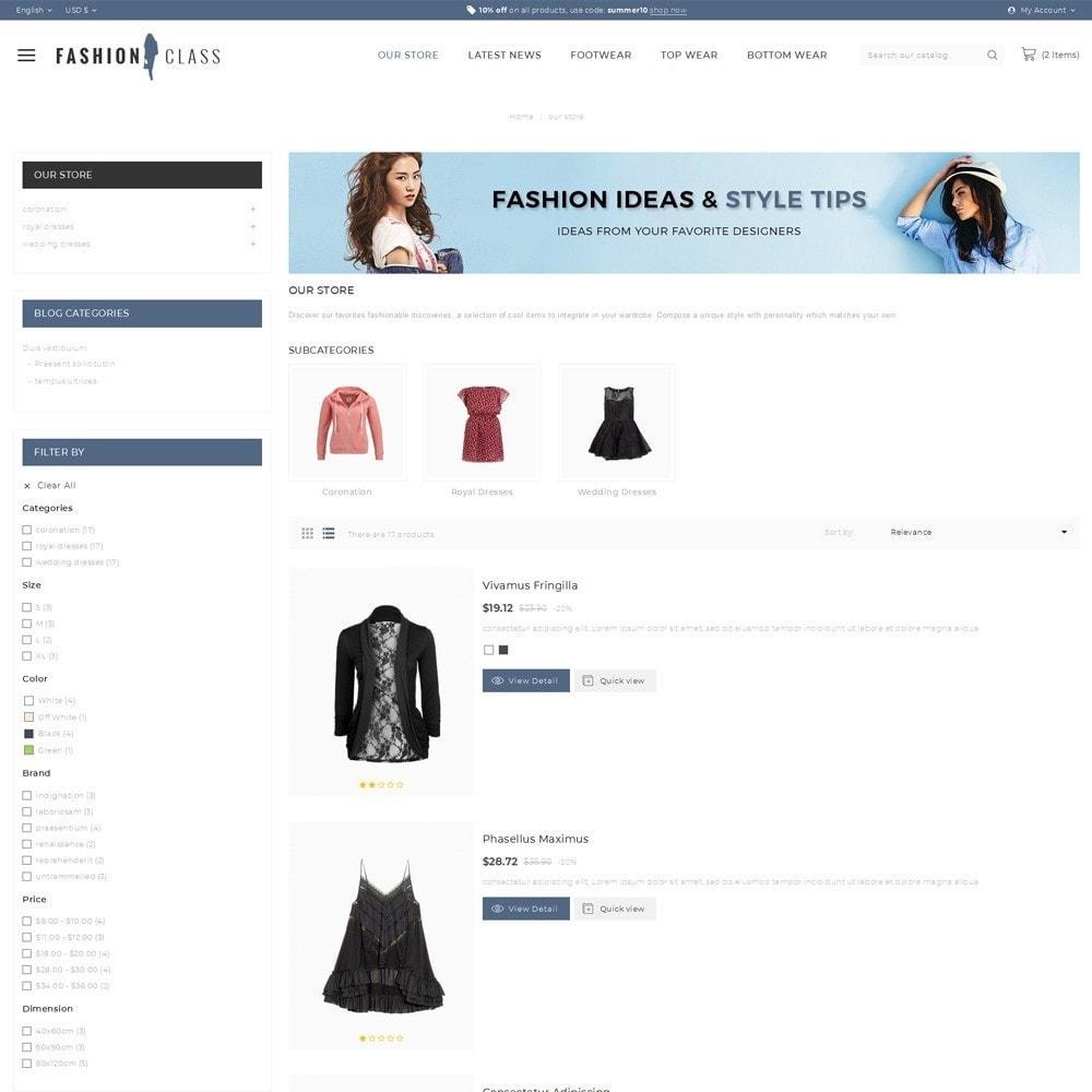 theme - Fashion & Shoes - Fashionclass - The Fashion Store - 5