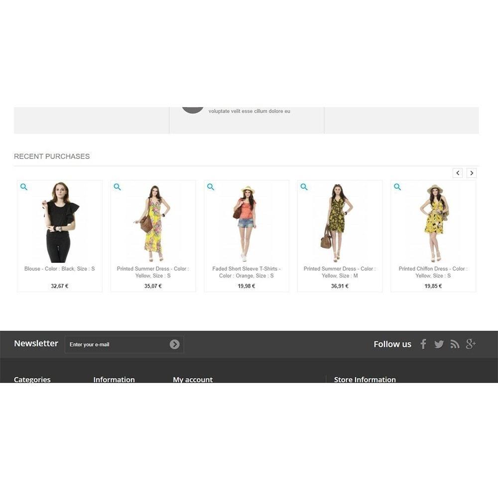 module - Zarządzanie zamówieniami - Recently purchased products | Recent orders - 4