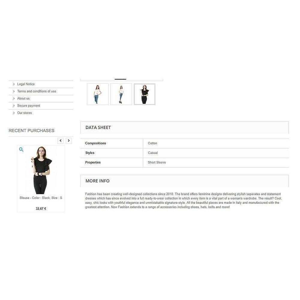 module - Zarządzanie zamówieniami - Recently purchased products | Recent orders - 6