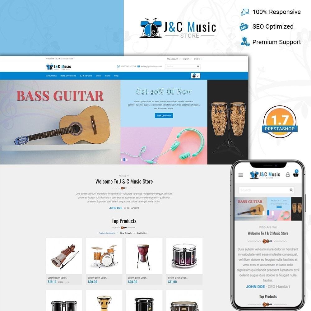 theme - Arte e Cultura - J & C Music Store - 1