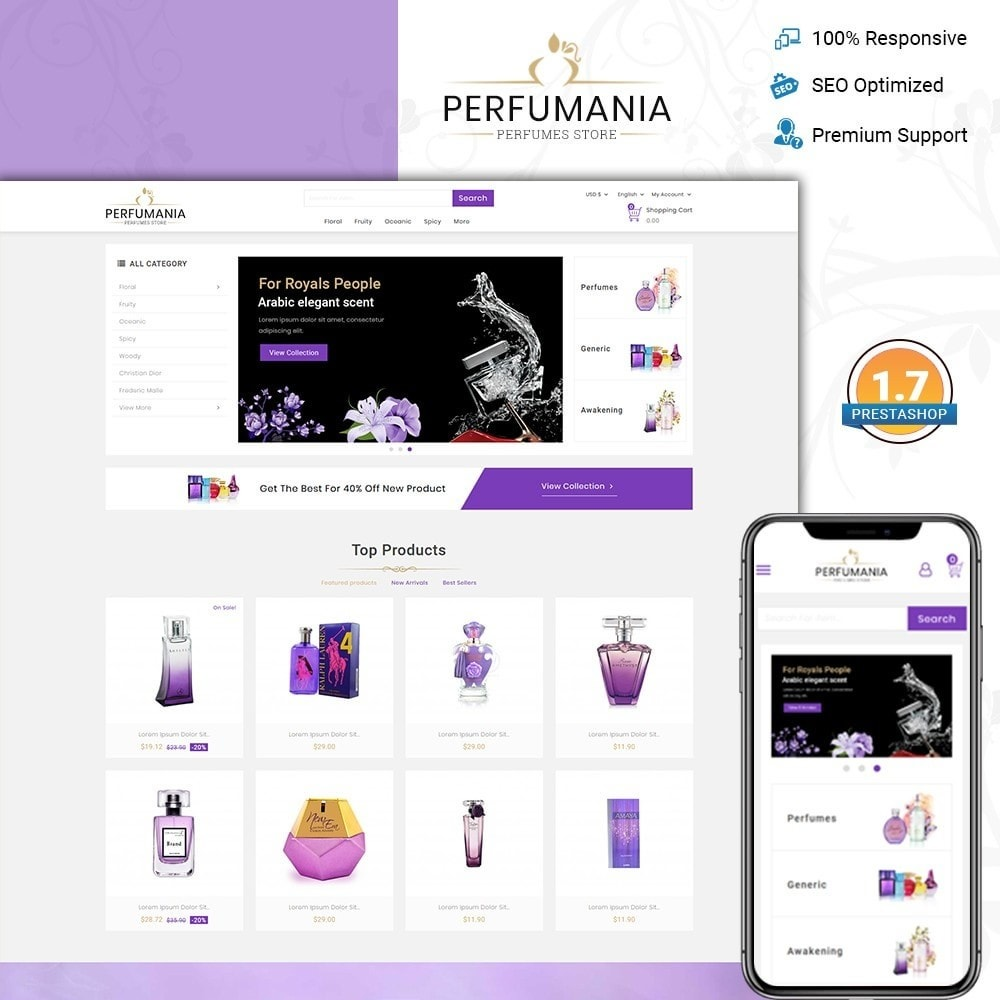 theme - Moda & Calçados - Perfumania - Perfume Store - 1