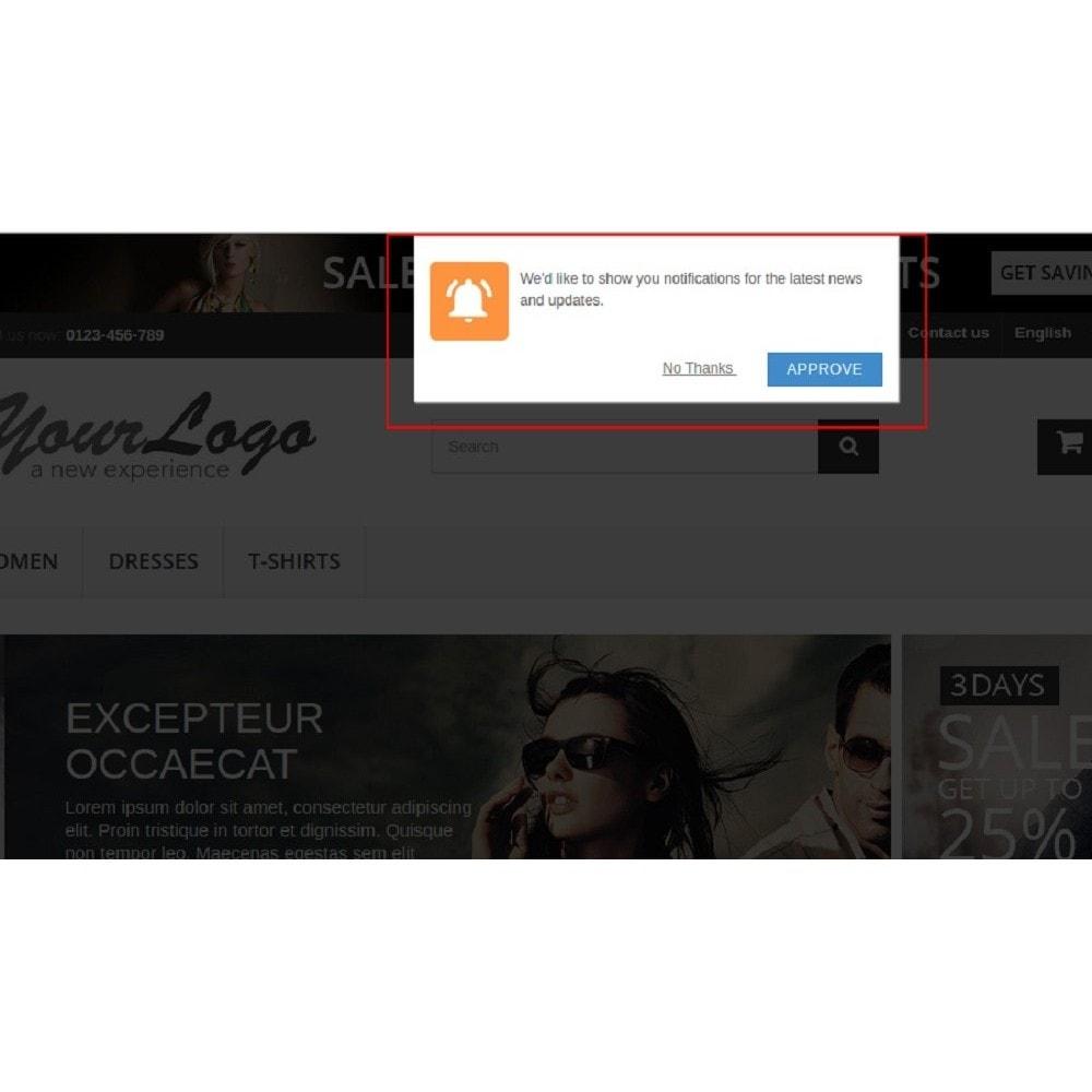 module - Promoties & Geschenken - Web Push Notification - 2