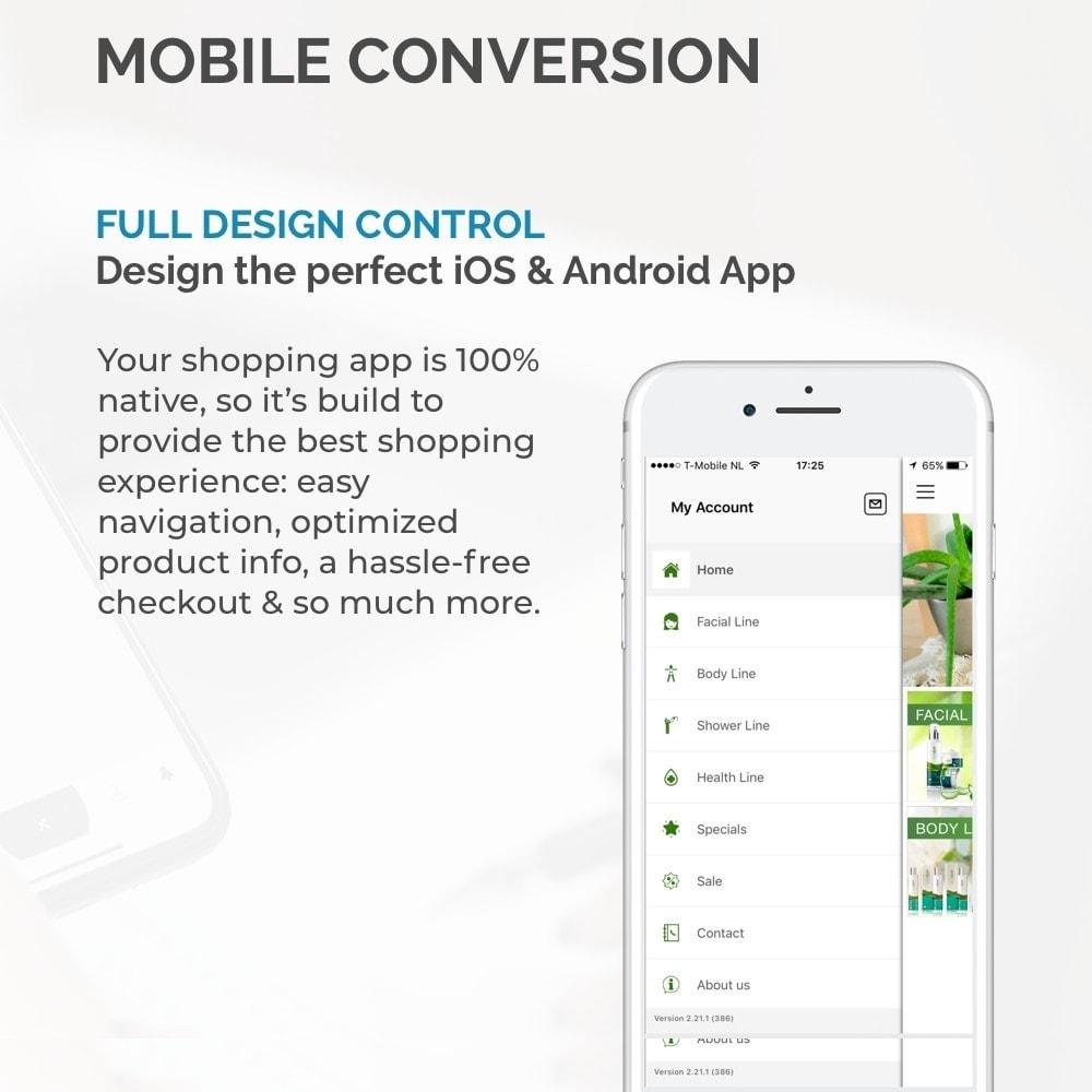 module - Mobile Endgeräte - JMango360 Mobile App Builder - 8