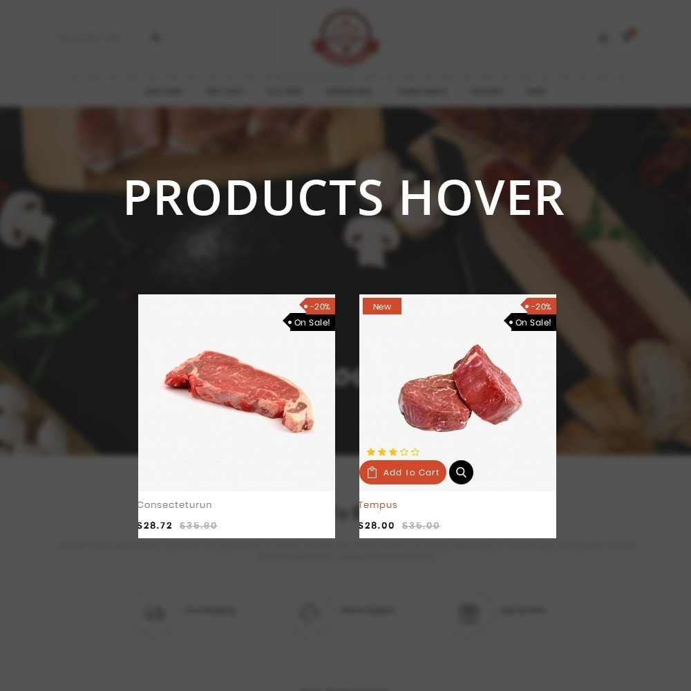 theme - Food & Restaurant - Barbecue - The Meat Shop - 11