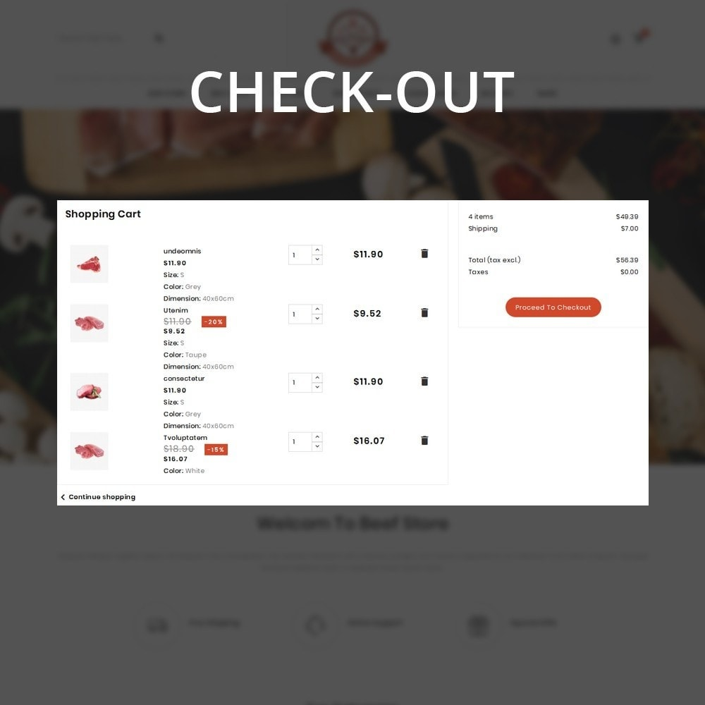 theme - Food & Restaurant - Barbecue - The Meat Shop - 13