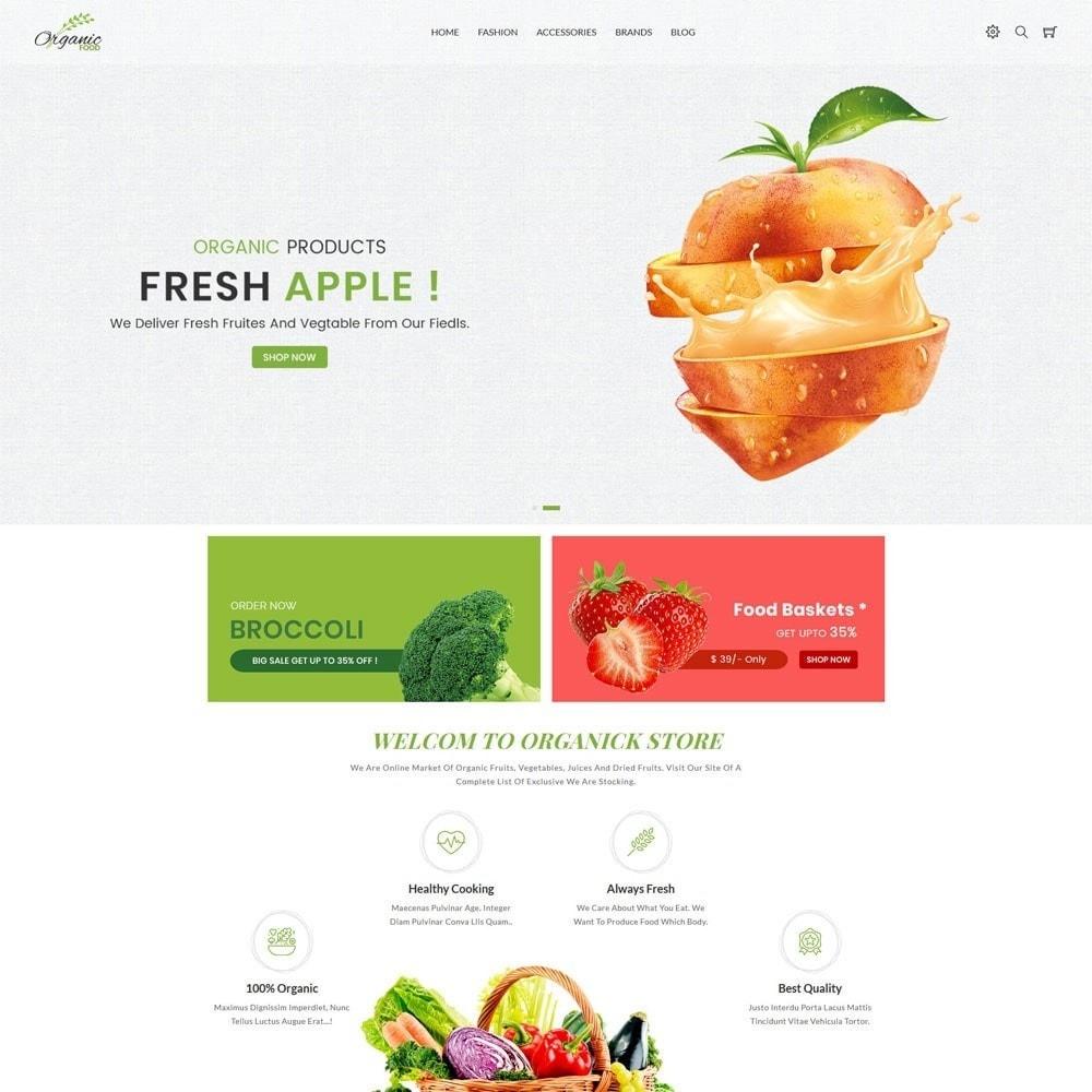 theme - Food & Restaurant - Organic Store - 2