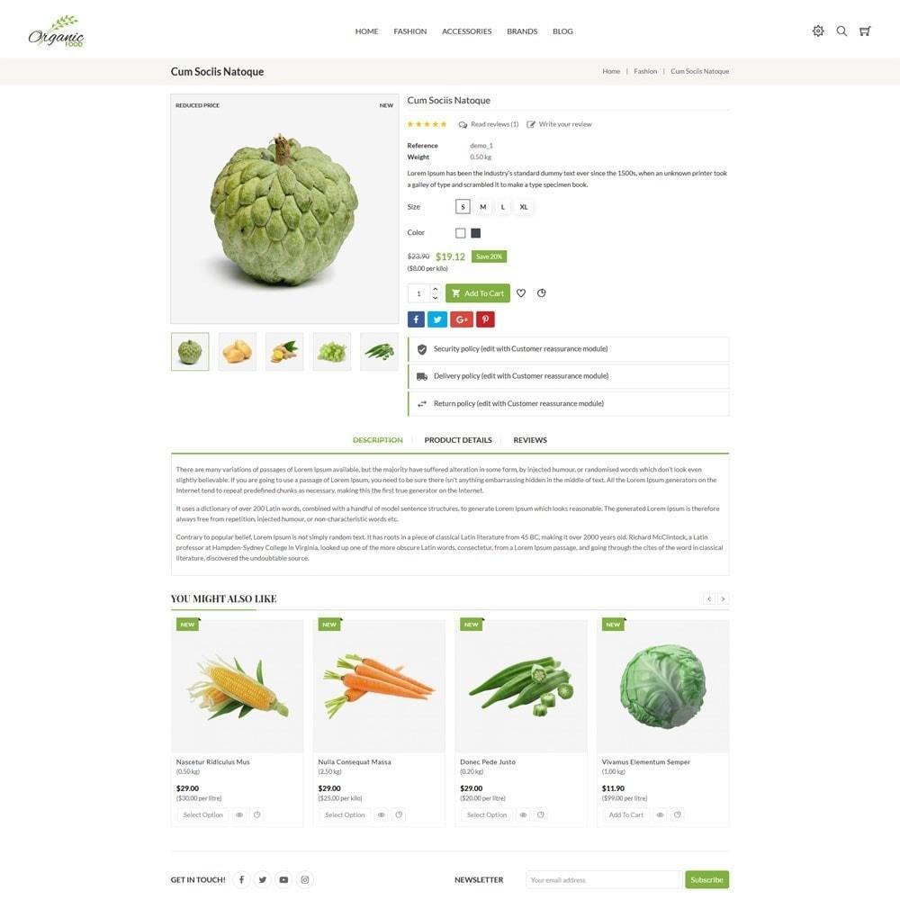 theme - Food & Restaurant - Organic Store - 5