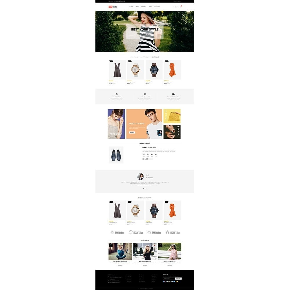 theme - Mode & Chaussures - Fashcare Fashion Store - 2
