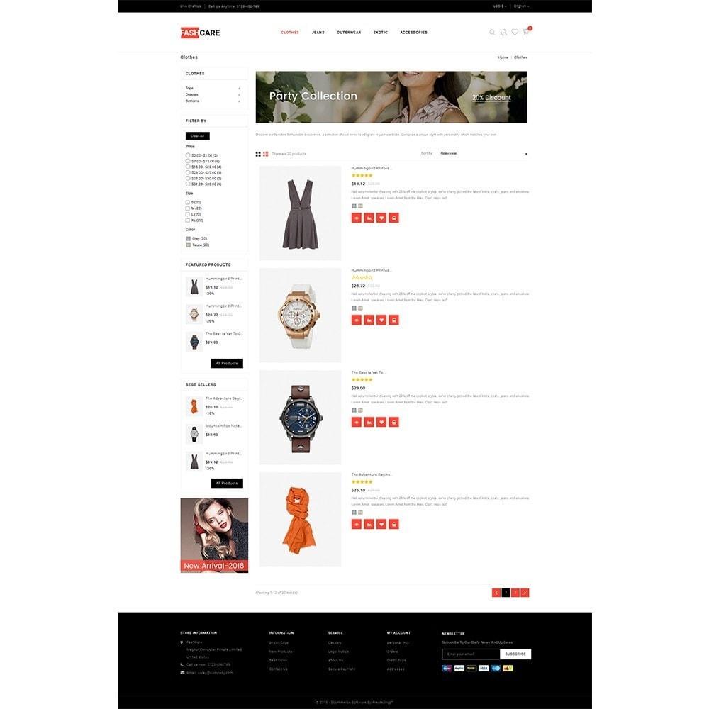 theme - Moda & Calçados - Fashcare Fashion Store - 4