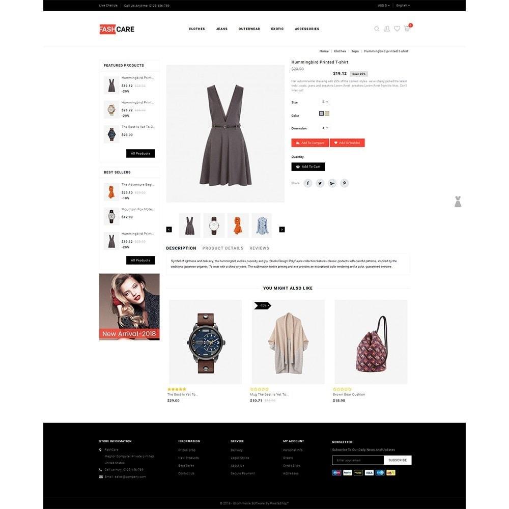 theme - Moda & Calçados - Fashcare Fashion Store - 5