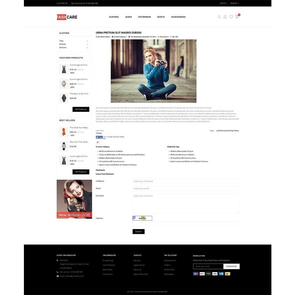theme - Moda & Calçados - Fashcare Fashion Store - 6