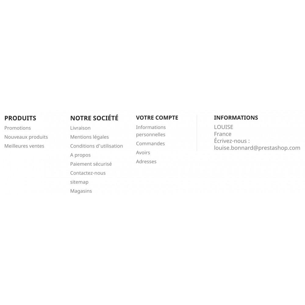 module - Blocs, Onglets & Bannières - My Account block - 1