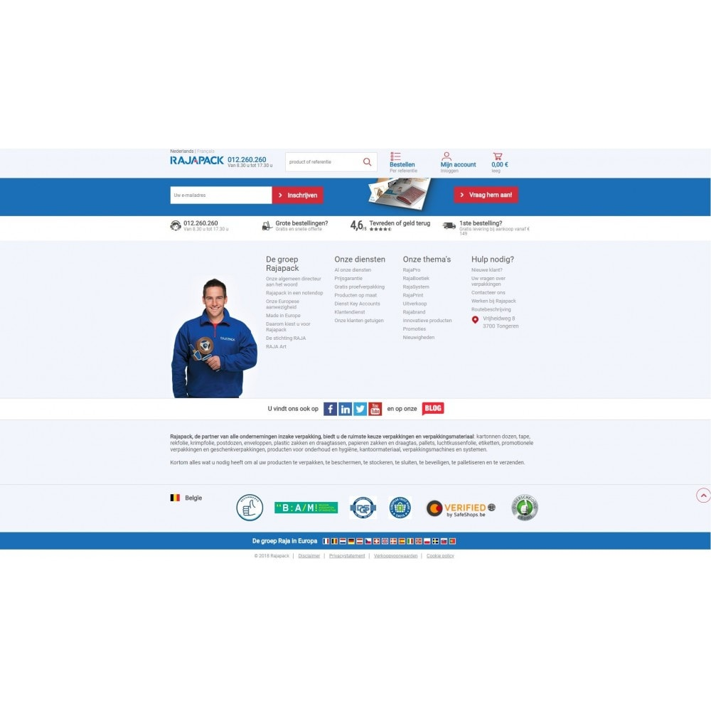 service - Badges & Logos - BeCommerce - 2