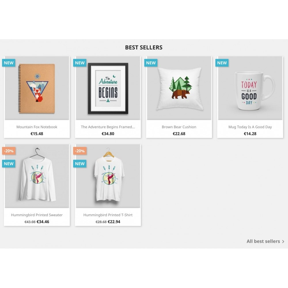 module - Produkte auf der Startseite - Top-sellers block - 2