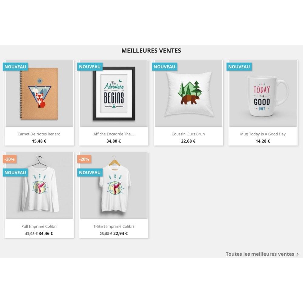 module - Produits en page d'accueil - Top-sellers block - 2