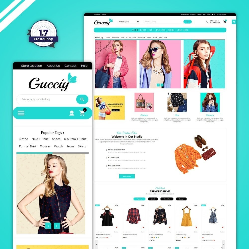 theme - Fashion & Shoes - Gucciy–Fashion  Big Shop - 1